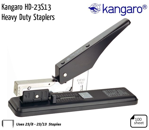 kangaro hd 23s13 heavy duty staplers