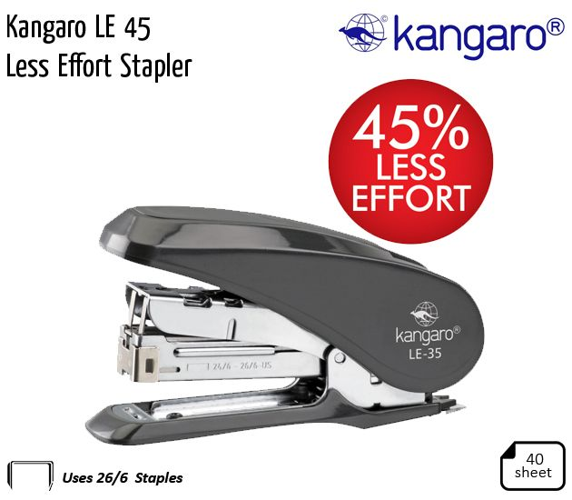 kangaro le 45 less effort stapler