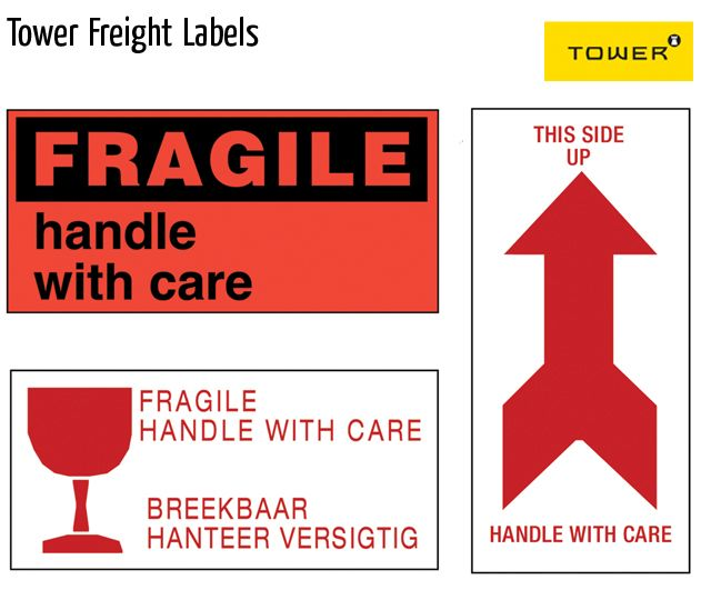 tower freight labels
