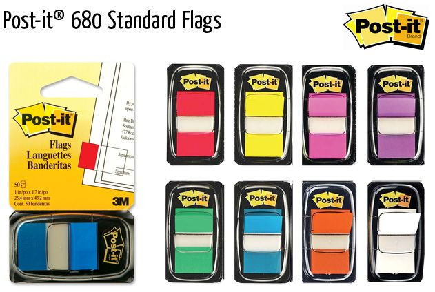 post it 680 standard flags
