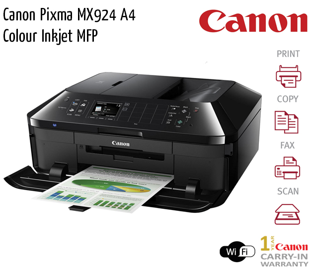 canon pixma mx924 a4 colour inkjet