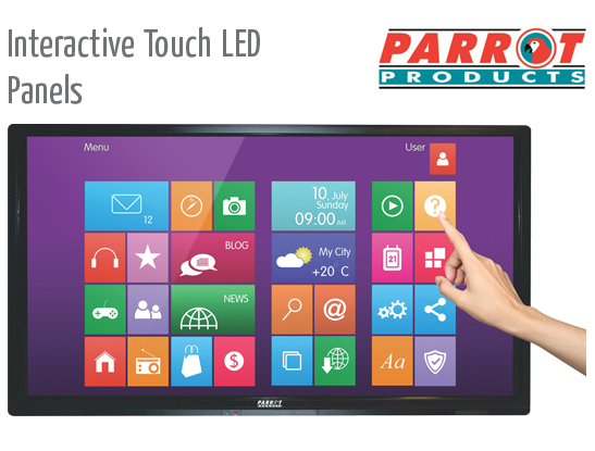 interactive touch led panels