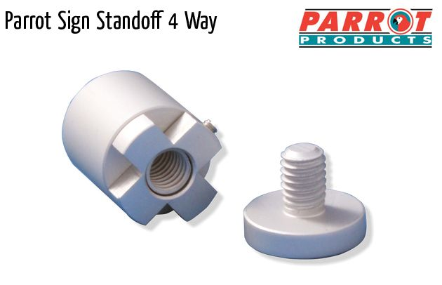 parrot mf sign standoff 4 way