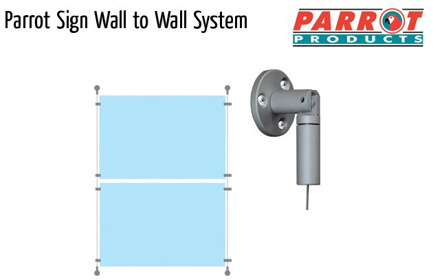 parrot mf sign walltowall system