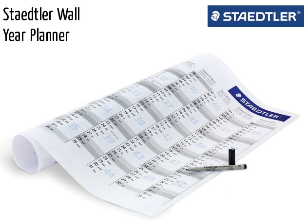 staedtler wall year planner