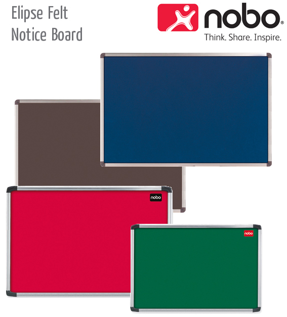 elipse felt notice boards