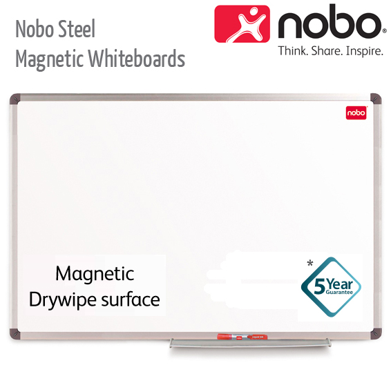 nobo magnetic whiteboards