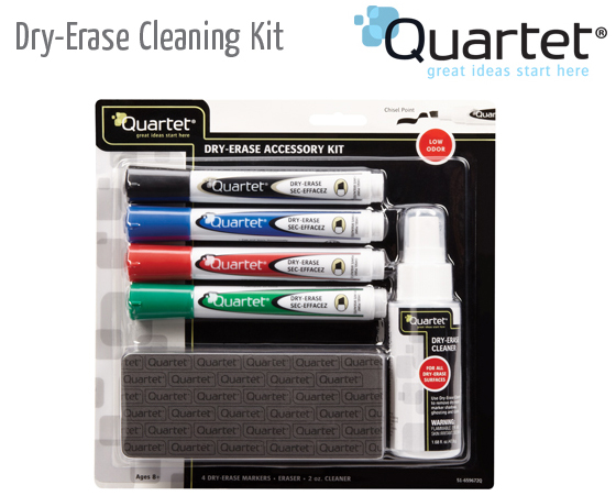 dry erase cleaning kit