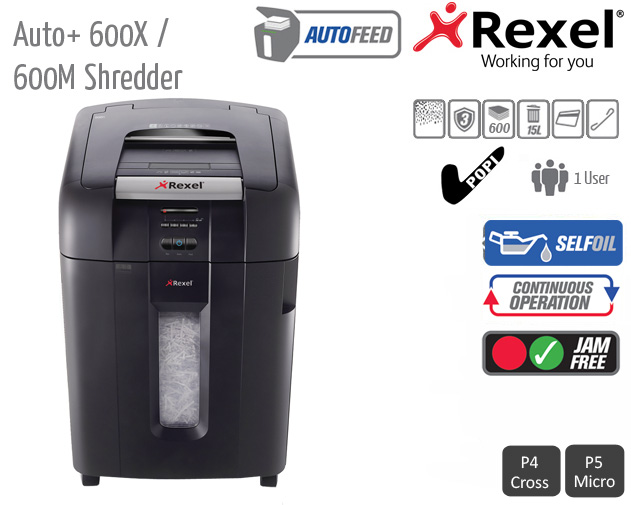 auto 600x shredder