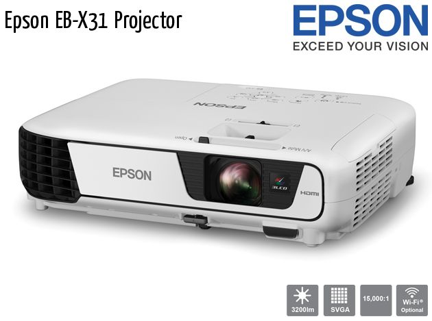 epson data projectors how to use