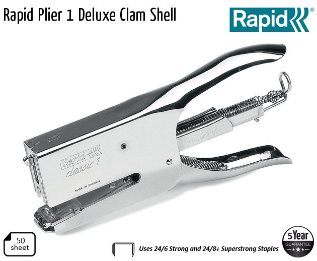 rapid plier 1 deluxe clam shell