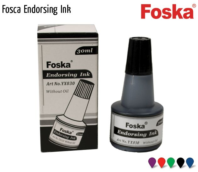 fosca endorsing ink