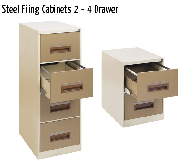 steel filing cabinets 2 4 drawer