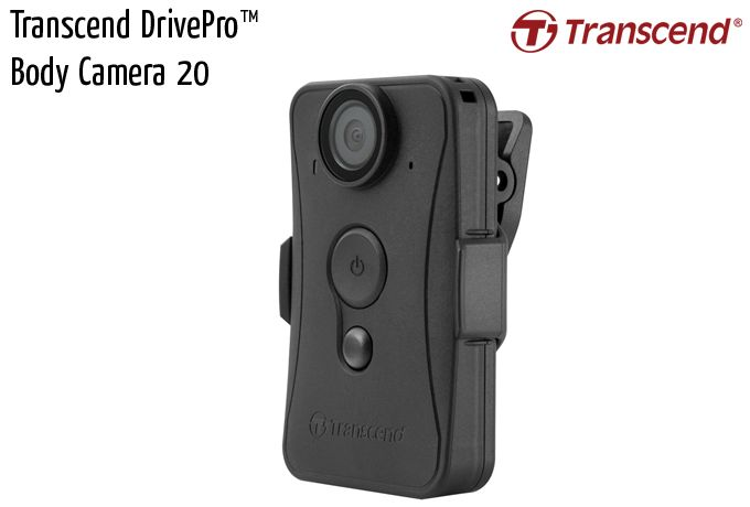 transcend drivepro body camera 20