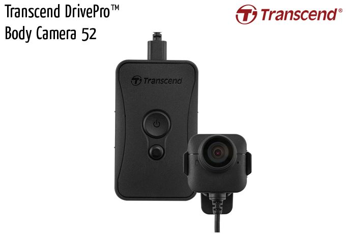 transcend drivepro body camera 52