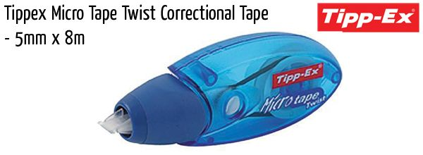 correction bic tippex micro tape