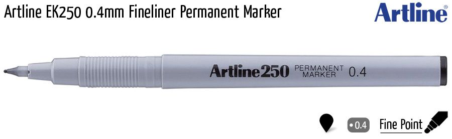 fineliner artline ek250