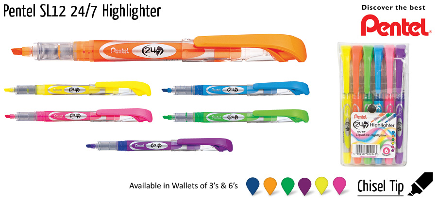 highlighter pentel sl12