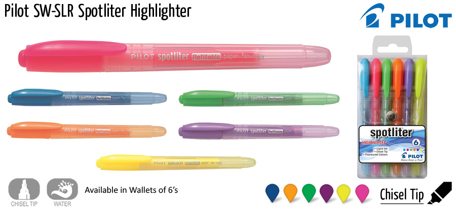 highlighter pilot spotliter