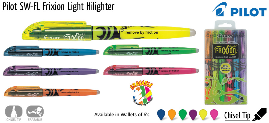 highlighter pilot sw fl frixion