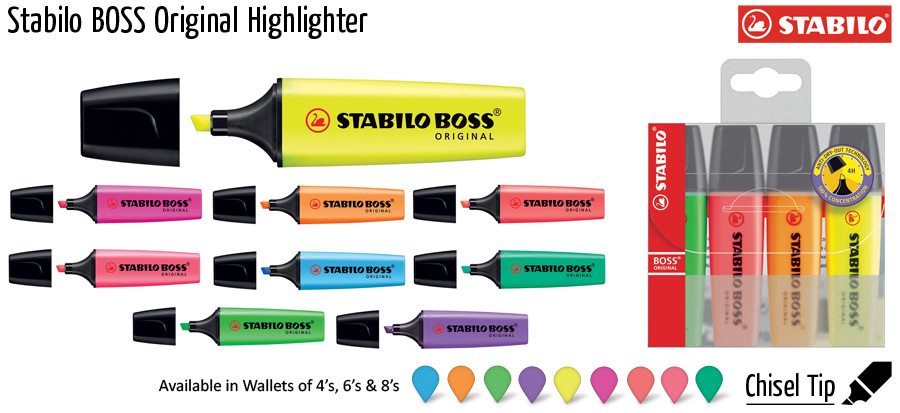highlighter stabilo boss