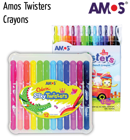 pencils amos twister crayons