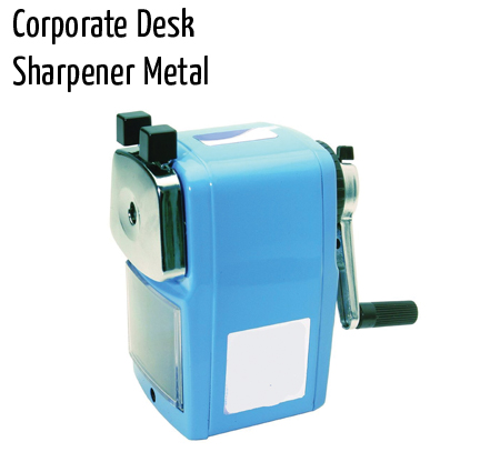 sharpners corporate desk sharpner metal